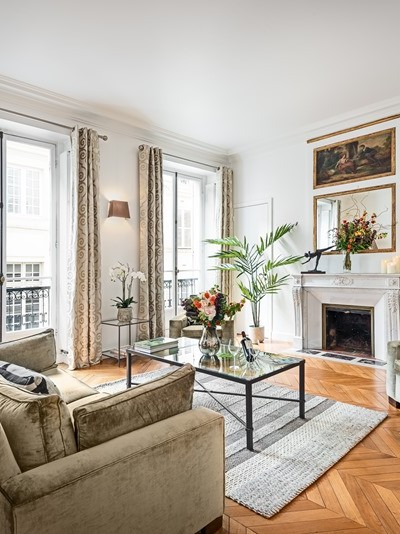 Moments From The Lovely Jardin Du Luxembourg, This Most Luxurious And  Elegant 2 Bedroom   2 Bathroom Apartment (110 Square Meters   1184 Square  Feet), ...