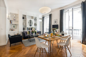 saint-germain chic two bedroom