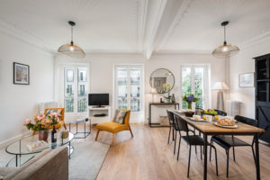 panthéon / luxembourg gardens charming two bedroom