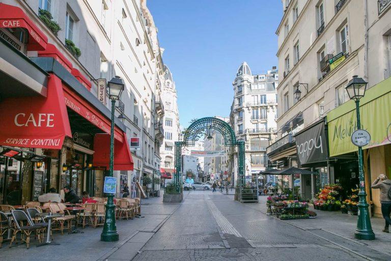 Montorgueil street