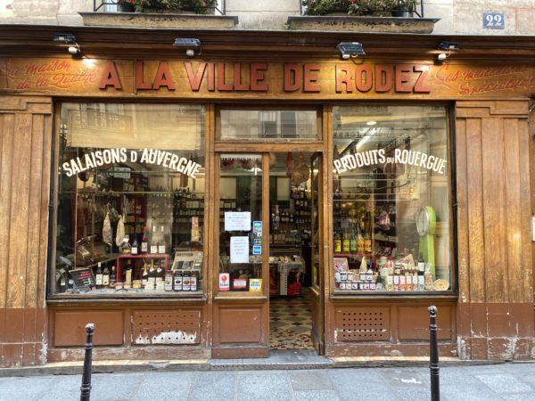 A la ville de Rodez